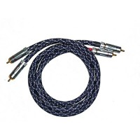 Silberstatic NF-1 | Cinch-Kabel | 2 x 1 m